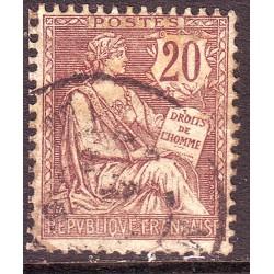 n° 126 Obl MOUCHON (ref 7237)