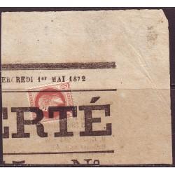 Empire Lauré n° 26 Obl...