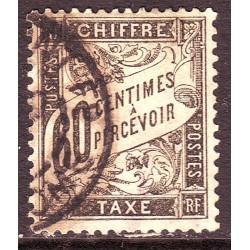 Taxe n° 21 Obl (ref 8012)