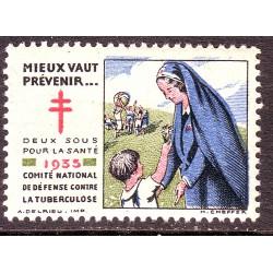 vignette tuberculose 1935...