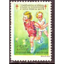 vignette tuberculose 1933...