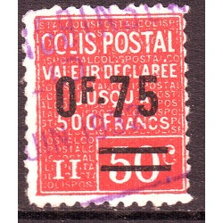 Colis Postaux n° 91 Obl...